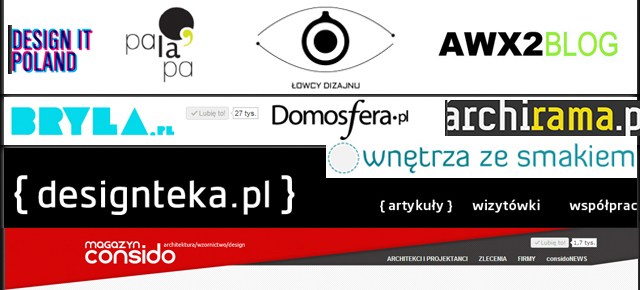 TOP 10 najlepsze blogi designerskie w Polsce