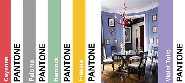 2014 trendy kolorystyczne według PANTONE