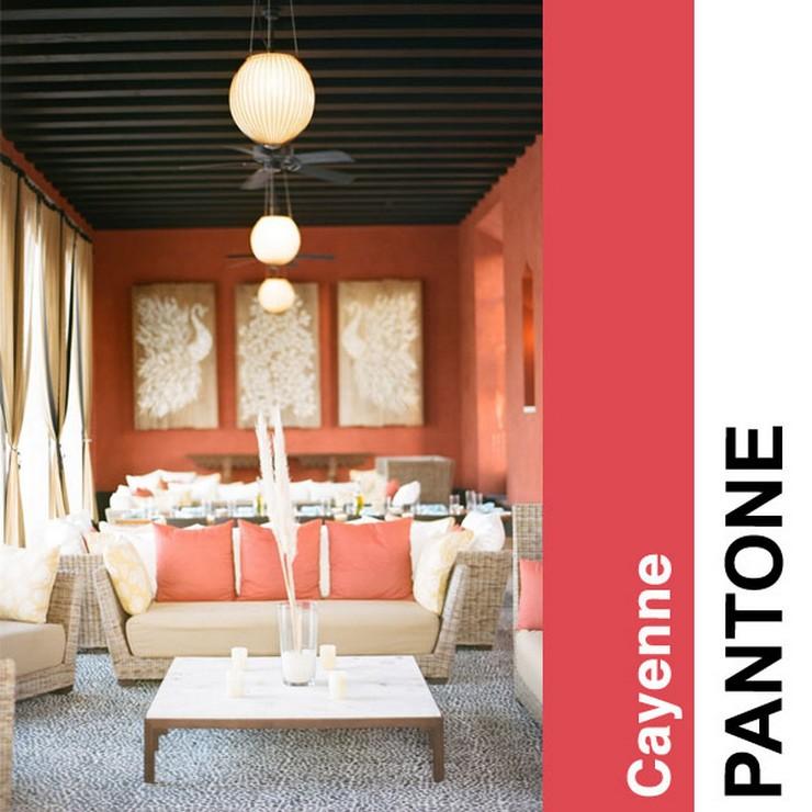 Cayenne  2014 trendy kolorystyczne według PANTONE Cayenne