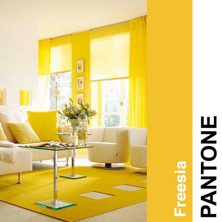Freesia  2014 trendy kolorystyczne według PANTONE Freesia
