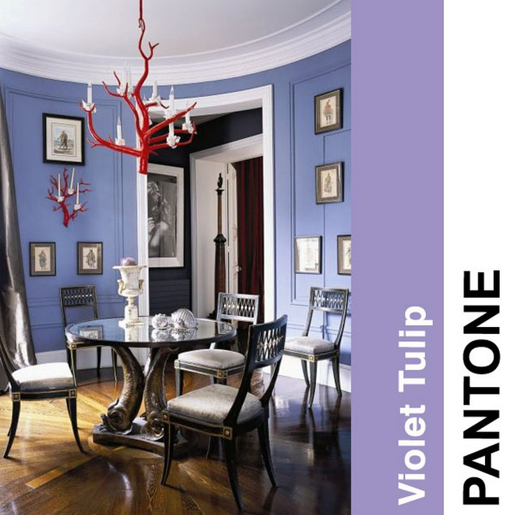 Violet-Tulip  2014 trendy kolorystyczne według PANTONE Violet Tulip