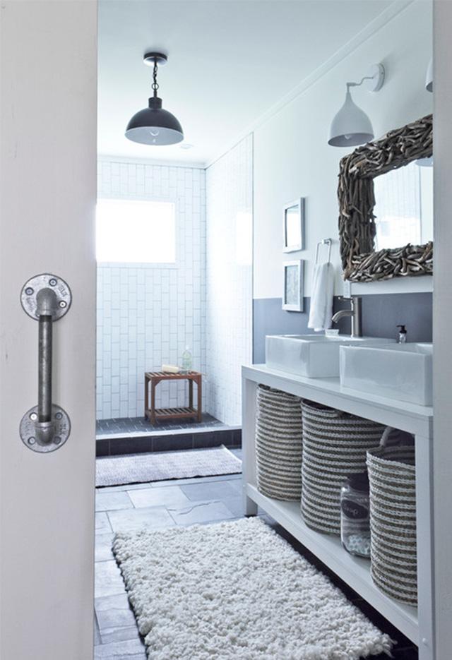 8-pomysłow-jak-urzadzic-mała-lazienke-JulieHolloway  8 pomysłów jak urządzić małą łazienkę  8 pomys  ow jak urzadzic ma  a lazienke JulieHolloway