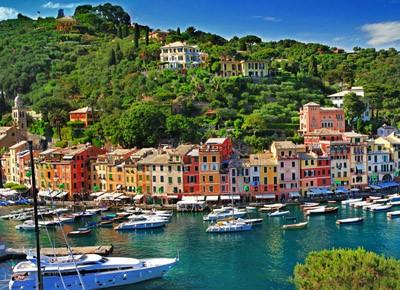 Kosmetyki z podróży - Portofino, Włochy.