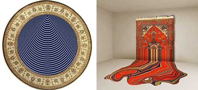 Tradycyjne Azerbejdżańskie dywany przekształcone w hipnotyzujące Dzieła Sztuki Tradycyjne Azerbejdzanskie dywany przeksztalcone w hipnotyzujace Dziela Sztuki