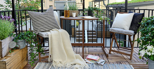 8 stylowych pomysłów jak urządzić balkon 8 stylowych pomyslow jak urzadzic balkon