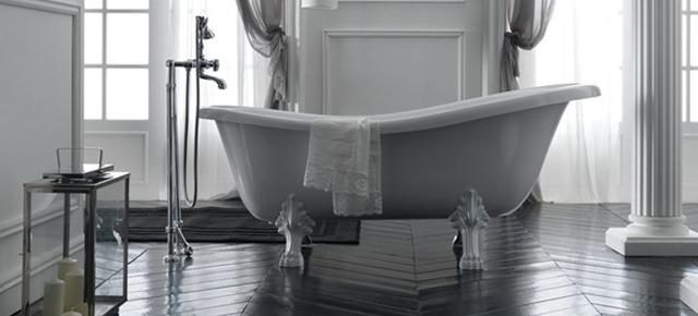 TOP 10 – przepięknych pomysłów na główną łazienkę w stylu vintage classic bath tub home