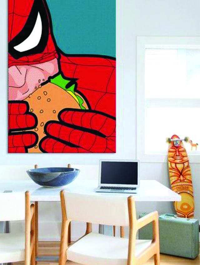 Pop-Art-15-inspirujacych-pomyslow-we-wnetrzach-2  Pop Art 15 inspirujących pomysłów we wnętrzach Pop Art 15 inspirujacych pomyslow we wnetrzach 2