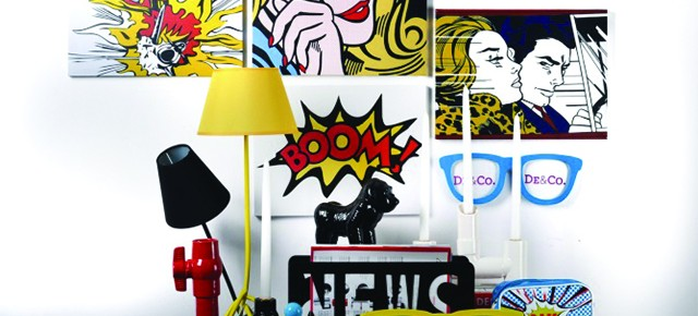 Pop Art 15 inspirujących pomysłów we wnętrzach