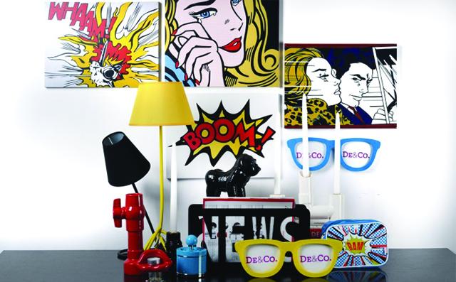 Pop Art 15 inspirujących pomysłów we wnętrzach Pop Art 15 inspirujacych pomyslow we wnetrzach1
