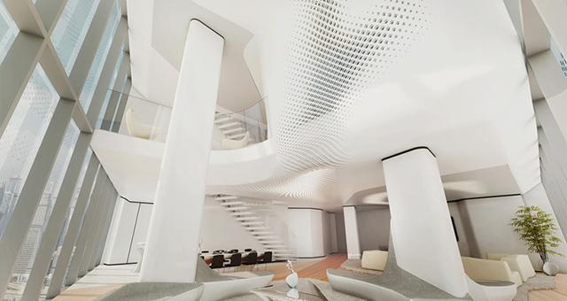 Zaha-Hadid-projektuje-niezwykle-wnetrza-dla-Opus-Office-Tower-w-Dubaju-4  Zaha Hadid projektuje niezwykłe wnętrza dla Opus Office Tower w Dubaju  Zaha Hadid projektuje niezwykle wnetrza dla Opus Office Tower w Dubaju 4