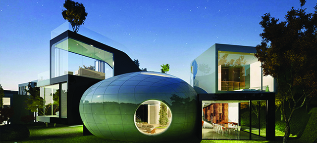 Top 10 hipnotyzujące kształty w architekturze- Retrofuturyzm!