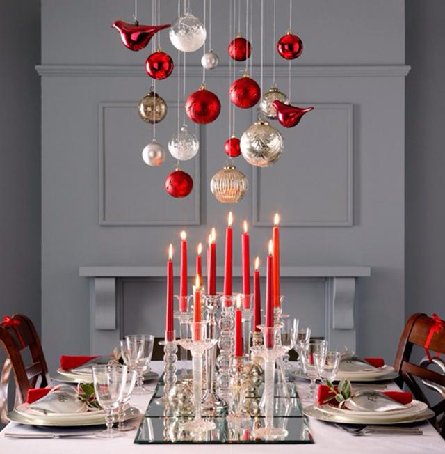 Swiateczne-dekoracje-modne-pomysly-do-salonu-czerwone1  Świąteczne dekoracje- modne pomysły do salonu Swiateczne dekoracje modne pomysly do salonu czerwone1
