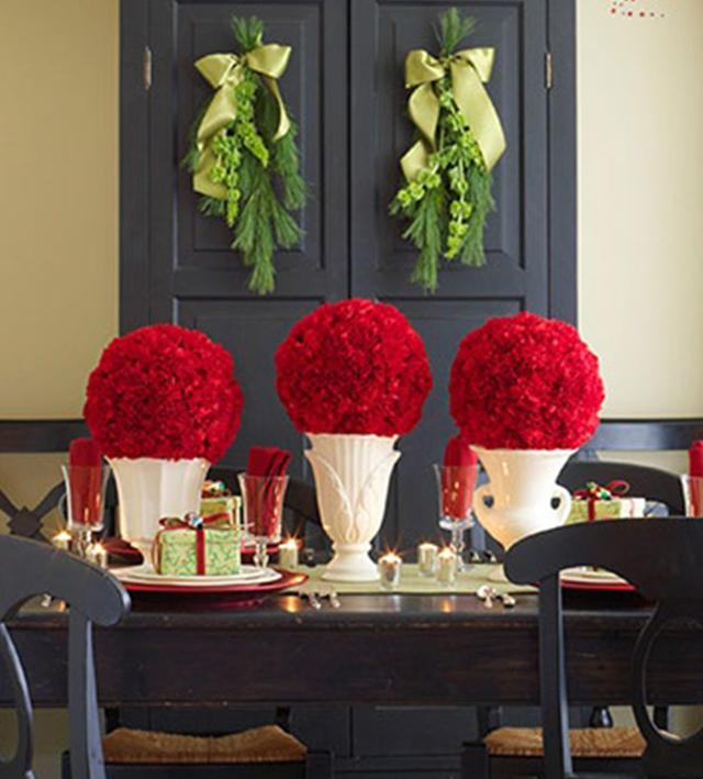 Swiateczne-dekoracje-modne-pomysly-do-salonu-czerwone4  Świąteczne dekoracje- modne pomysły do salonu Swiateczne dekoracje modne pomysly do salonu czerwone4