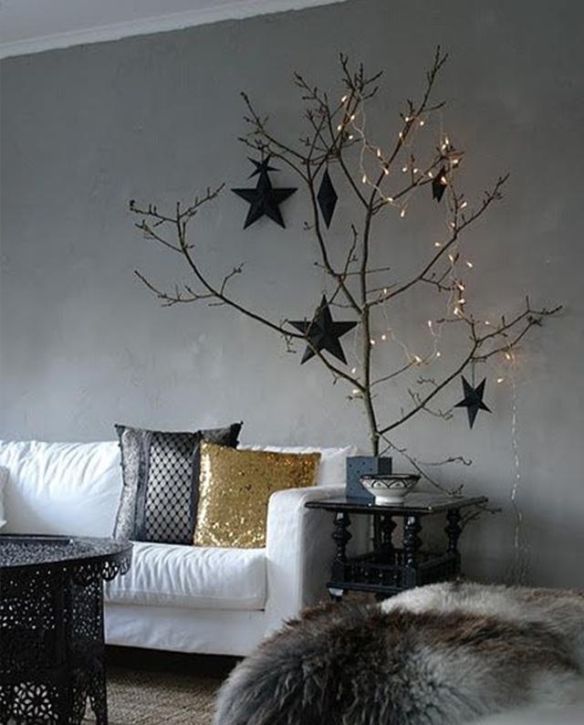 Swiateczne-dekoracje-modne-pomysly-do-salonu-zlote10  Świąteczne dekoracje- modne pomysły do salonu Swiateczne dekoracje modne pomysly do salonu zlote10