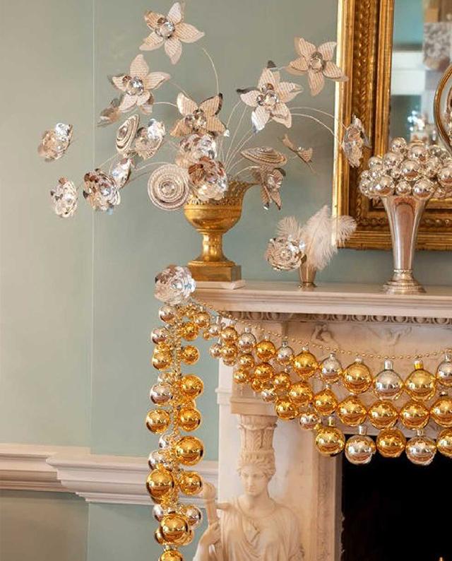 Swiateczne-dekoracje-modne-pomysly-do-salonu-zlote9  Świąteczne dekoracje- modne pomysły do salonu Swiateczne dekoracje modne pomysly do salonu zlote9