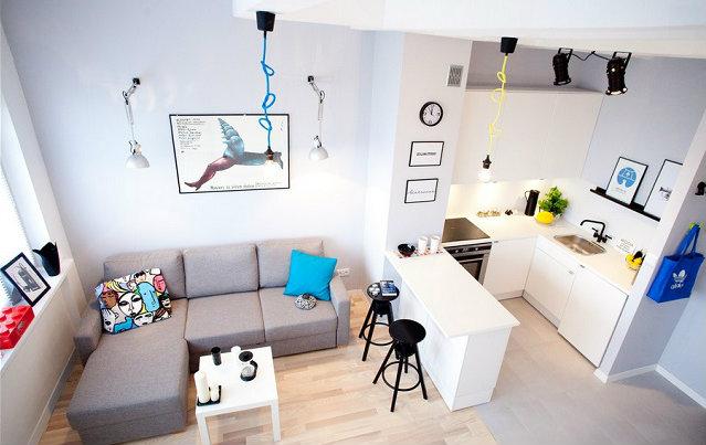 dom-wnetrze-Jak-urzadzic-male-mieszkanie-1  Jak urządzić małe mieszkanie? dom wnetrze Jak urzadzic male mieszkanie 11