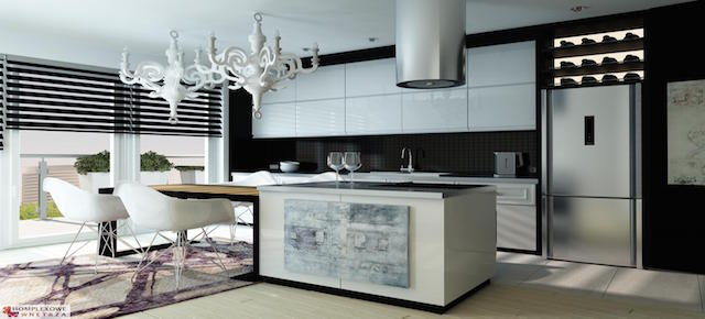 10 pomysłów na wykończenie ściany nad blatem kuchennym! 1