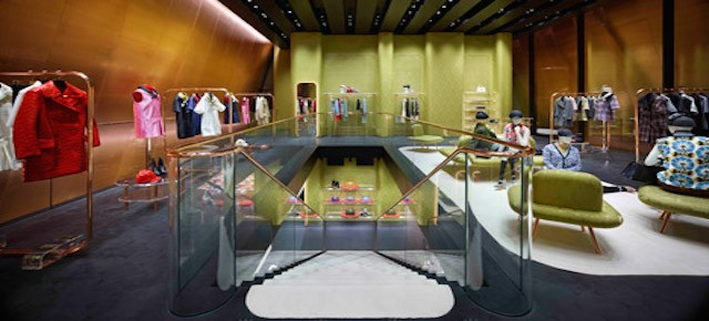 Nowy butik Miu Miu architektów Herzog & de Meuron