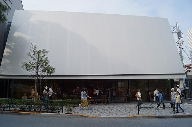 Nowy butik Miu Miu architektów Herzog & de Meuron1  Nowy butik Miu Miu architektów Herzog & de Meuron Nowy butik Miu Miu architekt  w Herzog de Meuron1