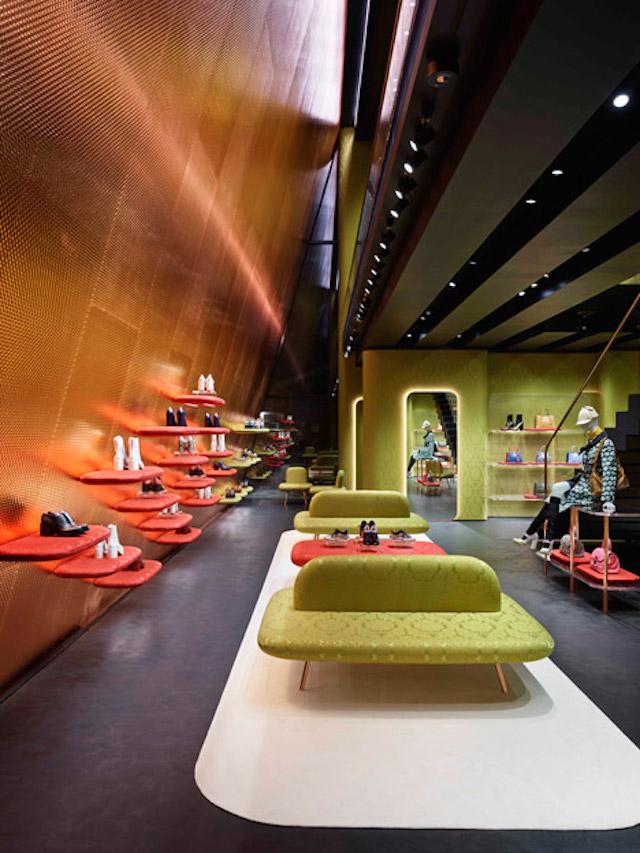 Nowy butik Miu Miu architektów Herzog & de Meuron6  Nowy butik Miu Miu architektów Herzog & de Meuron Nowy butik Miu Miu architekt  w Herzog de Meuron6