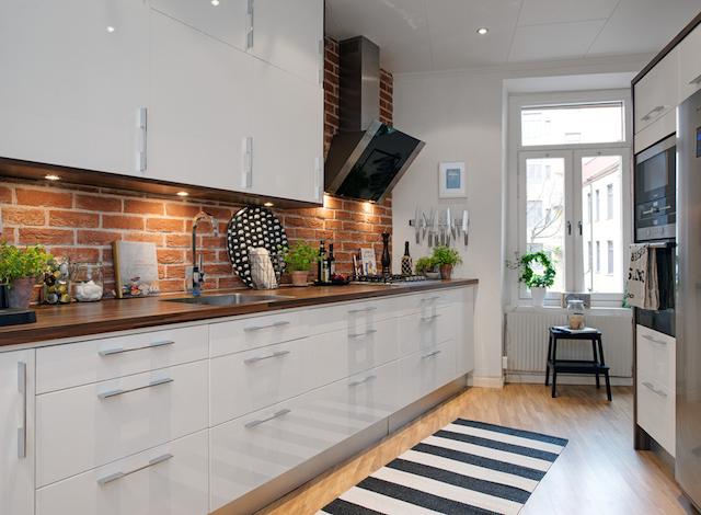 ce  10 pomysłów na wykończenie ściany nad blatem kuchennym! ce