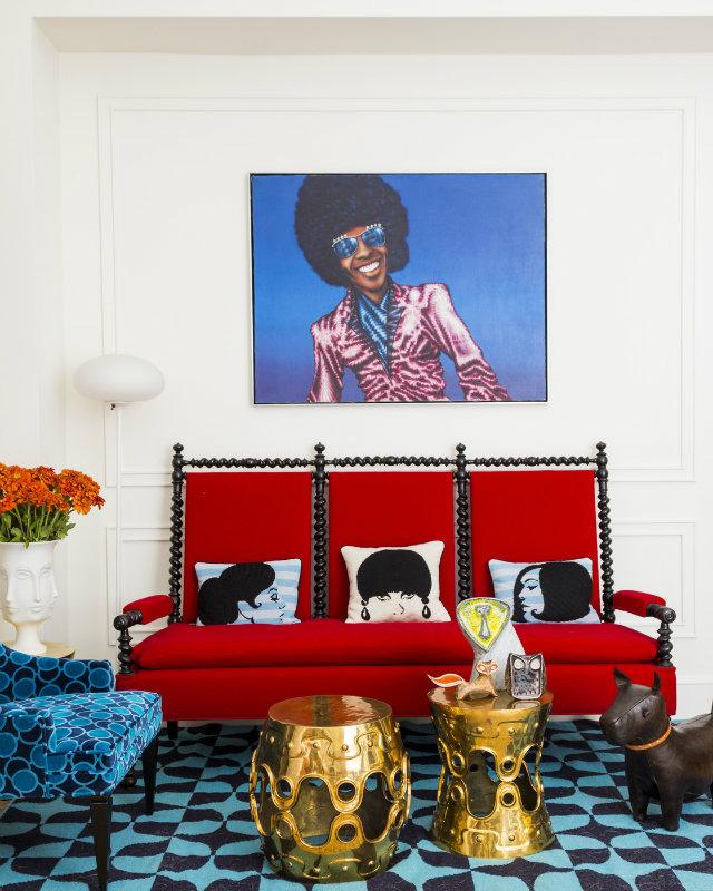 dom-wnetrze-czerwona-sofa  Kolorowa sofa... Odważysz się? dom wnetrze czerwona sofa