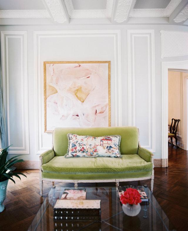 dom-wnetrze-limonkowa-sofa  Kolorowa sofa... Odważysz się? dom wnetrze limonkowa sofa
