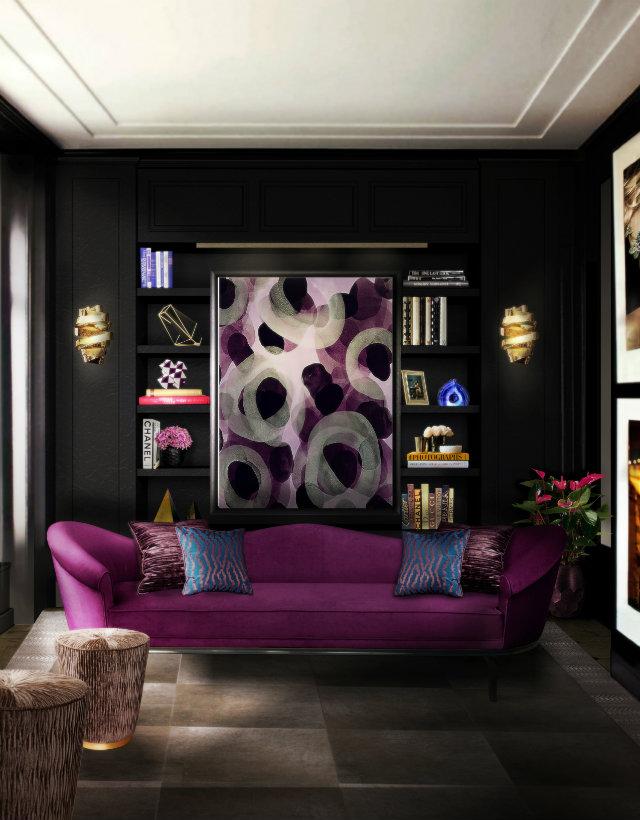 dom-wnetrze-magenta-sofa  Kolorowa sofa... Odważysz się? dom wnetrze magenta sofa