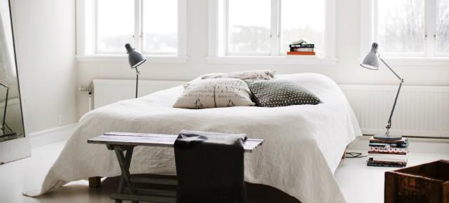 10 pięknych sypialni w stylu skandynawskim