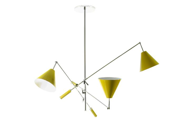 żółte lampy