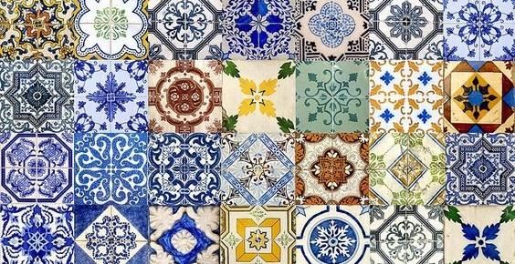 5 inspiracji z portugalskimi płytkami