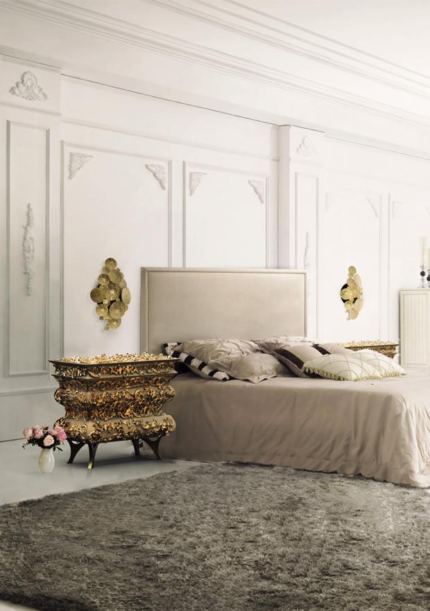 Luksusowe szafki nocne  50 luksusowych szafek nocnych do sypialni Luksusowe szafki nocne 28
