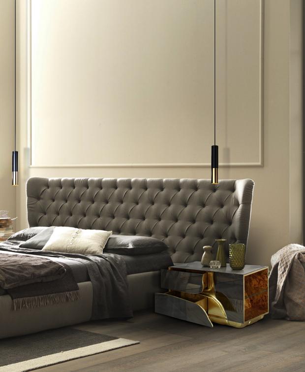 Luksusowe szafki nocne   50 luksusowych szafek nocnych do sypialni Luksusowe szafki nocne 33