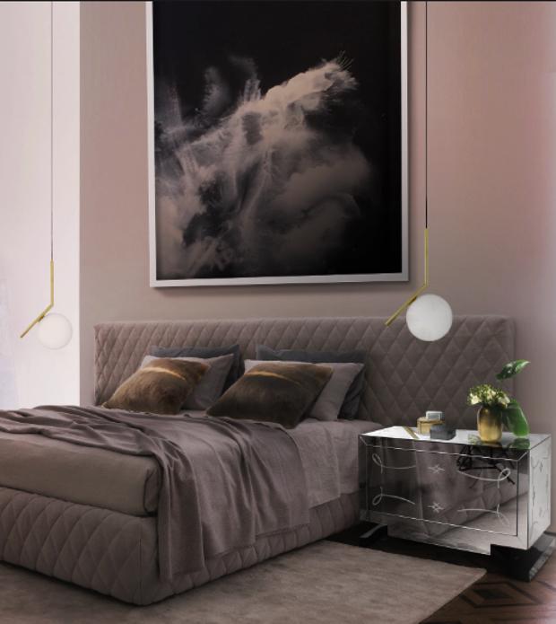 Luksusowe szafki nocne   50 luksusowych szafek nocnych do sypialni Luksusowe szafki nocne 34