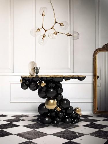 nowoczesne stoliki  Top 10 luksusowych stolików Top 50 Modern Console Tables 1 e1447752213684